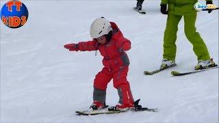 ✔ Кукла Беби Борн и Ярослава катаются на лыжах в Буковеле / Doll Baby Born / Holidays in Bukovel ✔