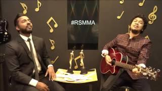 Papon sings an unplugged version of Jiyein Kyun | #RSMMA