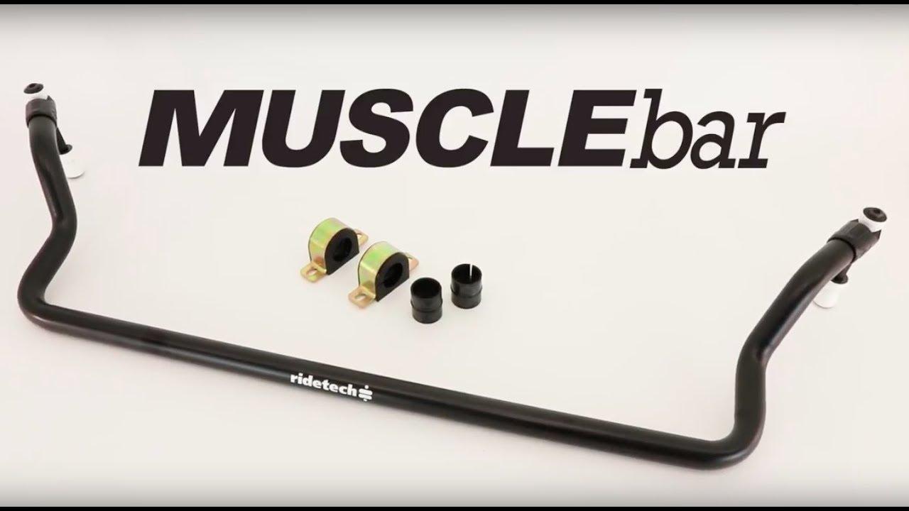 RideTech 11229102 Rear MuscleBar Sway Bar