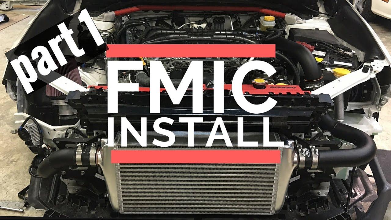 2016 Subaru WRX Front Mount Intercooler FMIC Install
