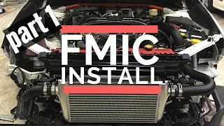 homepage tile video photo for 2016 Subaru WRX Front Mount Intercooler (FMIC) Install 2015-2017...