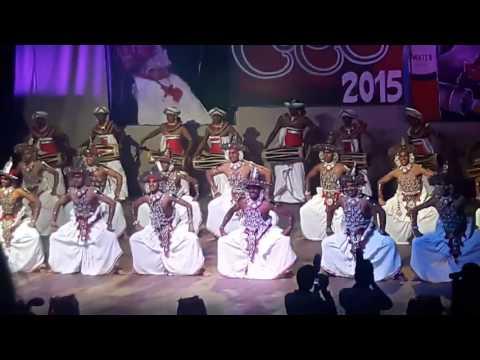 DHARMARAJA COLLEGE DANCING GROUP -KANDYAN DANCE