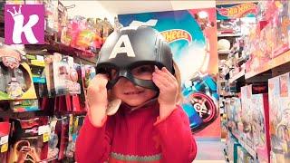 Обзор детских игрушек в торгово развлекательном центре Променада Парк Shoping in kids toy store(, 2016-04-09T14:20:01.000Z)