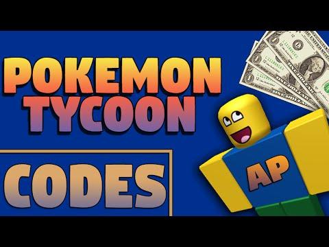 Roblox - Pokemon Tycoon Codes