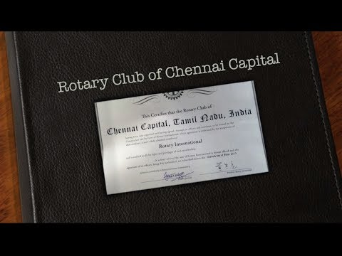 Rotary Club of Chennai Capital 2016-17