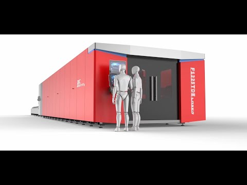 F1225TE - Baisheng Laser - Máquina Industrial para Corte de Metal ultra alto ( grandes espessuras)
