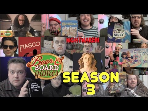 Beer and Board Games Season 3 - Every Episode
