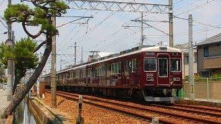 【転属】阪急神戸線 5000系5001F 6連化・今津北線へ... &7000系7009F 10両固定編成から解放、日中運用復帰