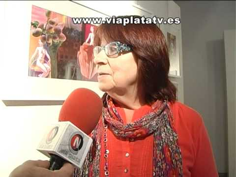 Gracia Ruiz expone sus Collages en Las Claras (Pla...