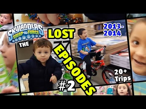 Thumbnail: Skylanders Hunting: 20+ Lost Episodes - Swap Force Finale, Hello Trap Team!