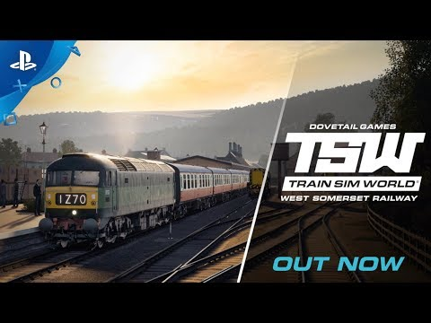 Train Sim World: West Somerset Railway - Launch Trailer | PS4