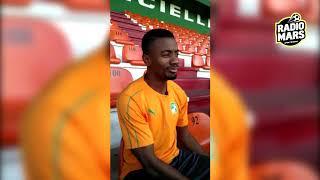 سلومون كالو يجيب على اسئلة دنيا سراج قبل مباراة المنتخب المغربي ضد نظيره الإيفواري