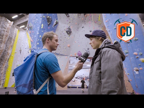 Alex Megos At The Klättercentret Telefonplan: Iconic Gyms | Climbing Daily Ep.862