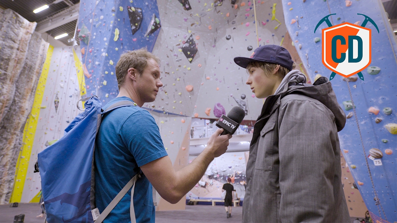 Alex Megos At The Klättercentret Telefonplan: Iconic Gyms | Climbing Daily  Ep 862