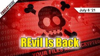PrintNightmare Hits Windows, REvil Kaseya Ransomware Hits Businesses Worldwide - ThreatWire