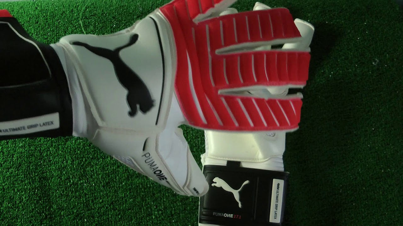 fa394c702 Puma One Grip 17.1 Goalkeeper Gloves Preview - YouTube