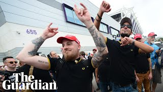 'White chauvinists' group Proud Boys confront anti-Trump protesters in Orlando