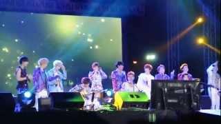 130119 EXO - Hawak Kamay (DKFC Manila)