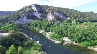 Camping de l'Île - Vallon Pont d'Arc