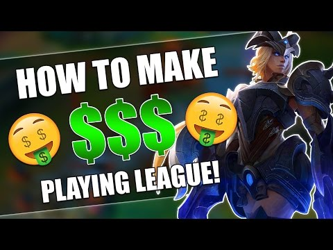 HOW TO MAKE MONEY PLAYING LEAGUE OF LEGENDS! - League of Legends | BATTLE OF GLORY SPONSOR!