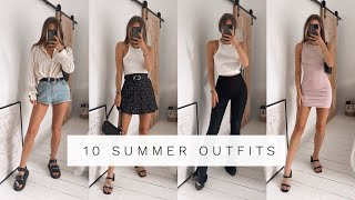 10 SUMMER OUTFITS | What I'm Wearing Post Lockdown | Fashion Influx :)