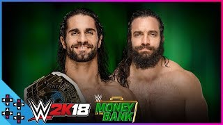 Baixar Money in the Bank: Seth Rollins vs. Elias - Intercontinental Title Match - WWE 2K18 Match Sims