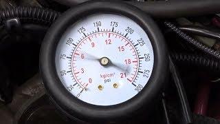 圧縮圧力の測定【Bandit250 GJ77A】