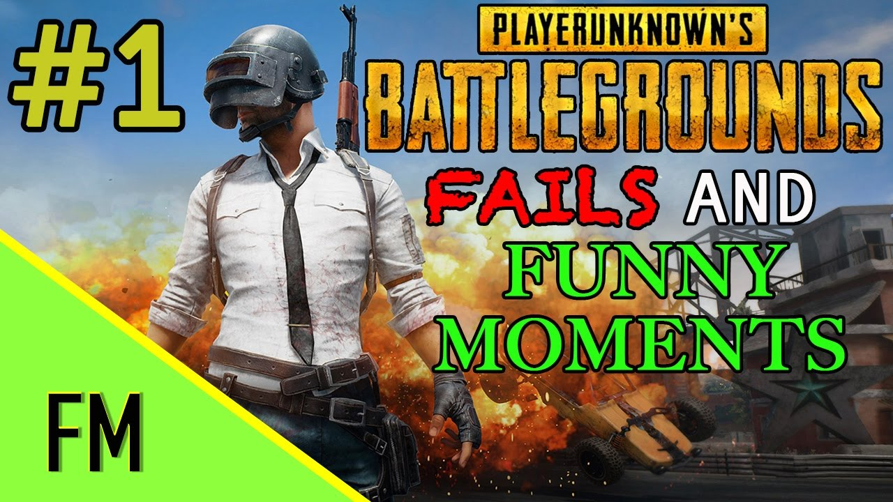 Funny Montage | PlayerUnknown's Battlegrounds Fails, Glitches And Funny Moments! #1