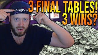 NATURAL8 = SOFTEST SITE EVER?! (3 FINAL TABLES)