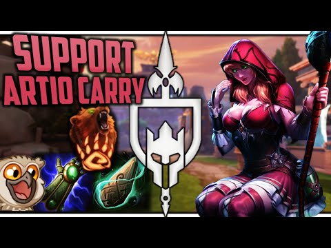 YOU HAVE NEVER SEEN AN ARTIO SUPPORT CARRY THIS HARD!
