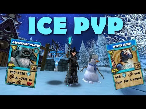 Wizard101 ICE PVP ROAD TO WARLORD