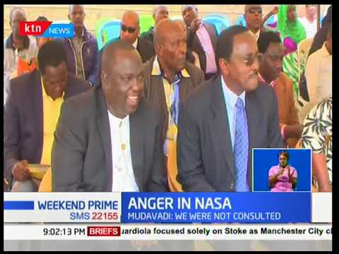 Nasa now appears divided over the meeting between President Uhuru and Nasa Principal Raila Odinga