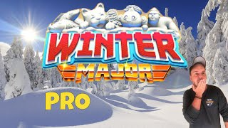 Golf Clash tips, Playthrough, Hole 1-9 - PRO *Tournament Wind* - Winter Major Tournament!