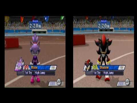 Let's Play Mario and Sonic at the Olympic Games – High Jump