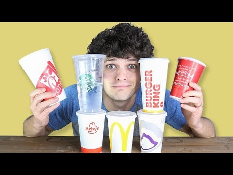 Which Fast Food Water Is the WORST?
