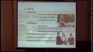 Tính nhân bản trong sản xuất kinh doanh - Linh mục Nguyễn Văn Quang