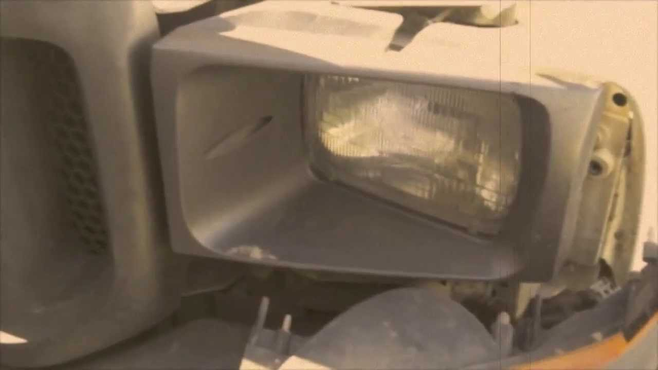 Changing the Headlights Ford F-250 - YouTube