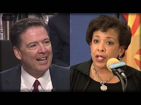 OH MY GOD! WHAT JUST CAME OUT ABOUT LORETTA LYNCH AND JAMES COMEY CHANGES EVERYTHING