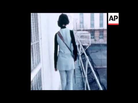 SYND 7-3-73 FIRST WOMAN GUARD AT SAN QUENTIN PRISON