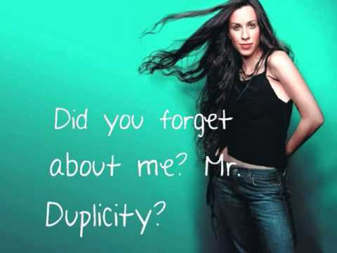 Alanis Morissette You Ought To Know