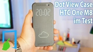 HTC One M8 Dot View Case deutsch