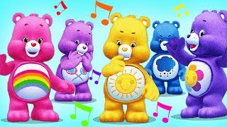 Care Bears Band !! Play Musical With Colorful Bears! Bath Time Dress Up - Baby Fun Games
