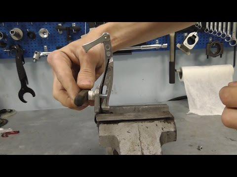 Регулировка ободных тормозов v-brake
