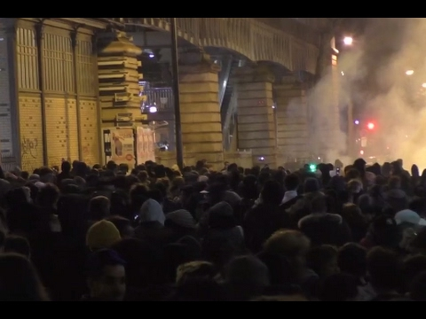 Live Protests in Paris