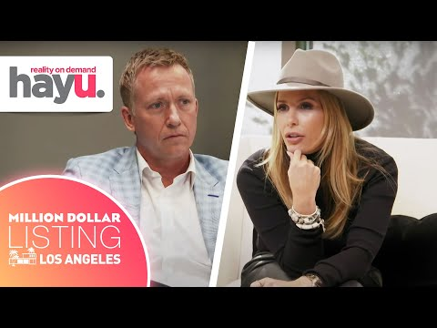 Tracy Tutor Goes Head-To-Head With Buyer's Agent | Season 12 | Million Dollar Listing: Los Angeles