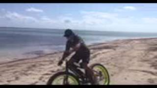 Fun on the Beach with Xtreme Fat Tire Electric Bikes E-Grizzly