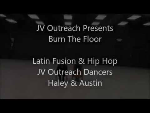 JV Outreach Burn The Floor Latin Fusion and Hip Hop Fire Hailey and Austin