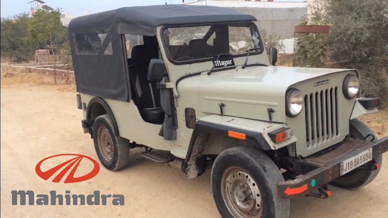 Mahindra Major Jeep After 8 Years Mahindra Jeep Mahindra Major