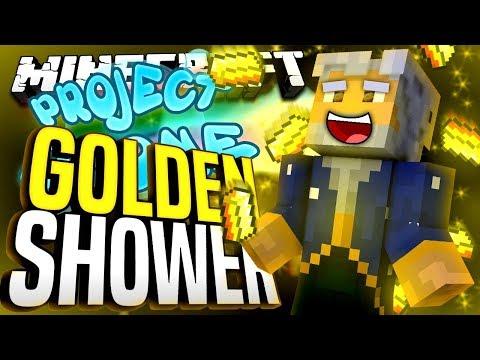 Minecraft - GOLDEN SHOWER - Project Ozone #192