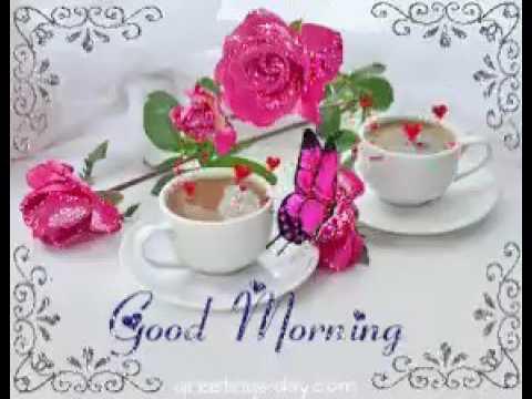 Good morning image style